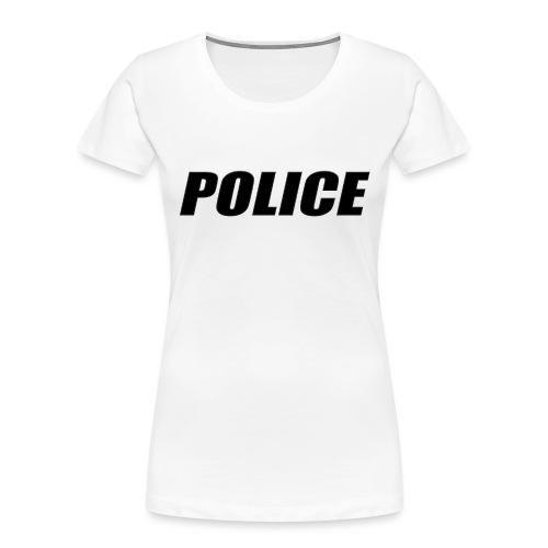 Police Black - Women's Premium Organic T-Shirt