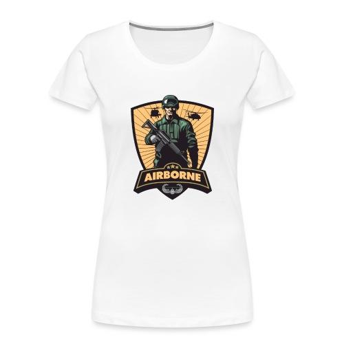 Air Assault Trooper - Women's Premium Organic T-Shirt