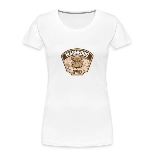Desert Marne Dog (3rd ID) - Women's Premium Organic T-Shirt