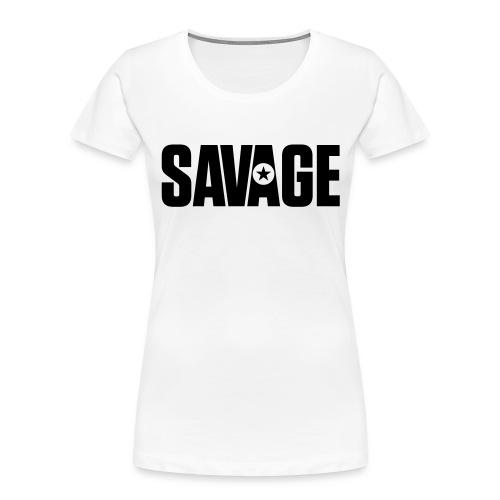 SAVAGE - Women's Premium Organic T-Shirt