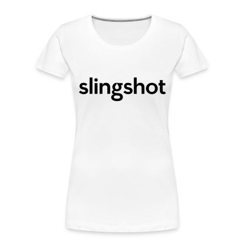 SlingShot Logo - Women's Premium Organic T-Shirt