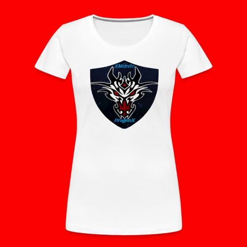 XMidniteDragonX - Women's Premium Organic T-Shirt