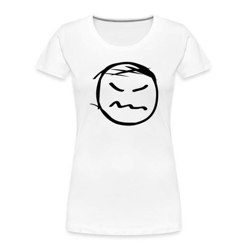 kicky head solo - Women's Premium Organic T-Shirt