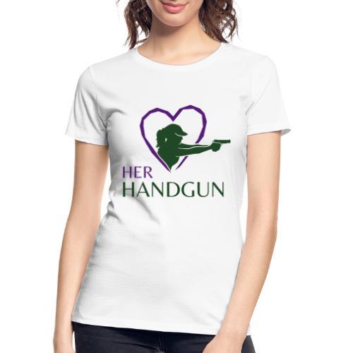 Official HerHandgun Logo - Women's Premium Organic T-Shirt
