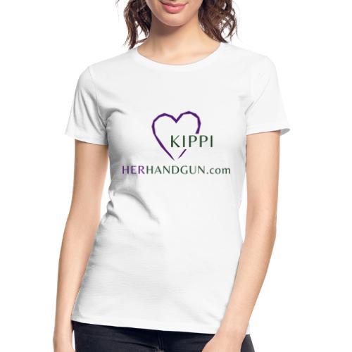 HerHandgun Logo for Kippi ONLY! - Women's Premium Organic T-Shirt