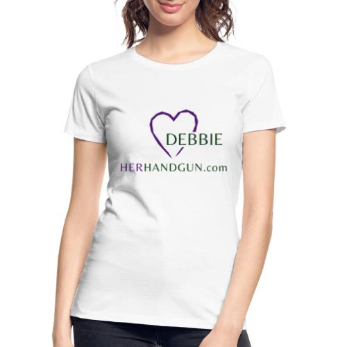 HerHandgun DEBBIE ONLY - Women's Premium Organic T-Shirt