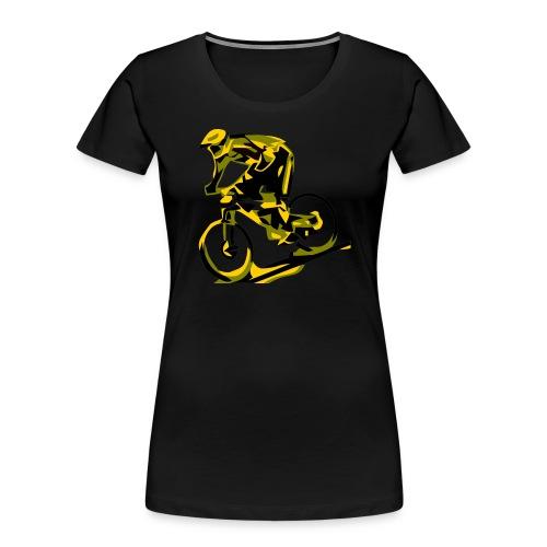 DH Freak - Mountain Bike Hoodie - Women's Premium Organic T-Shirt