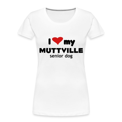 I Love My MV Dog - Women's Premium Organic T-Shirt