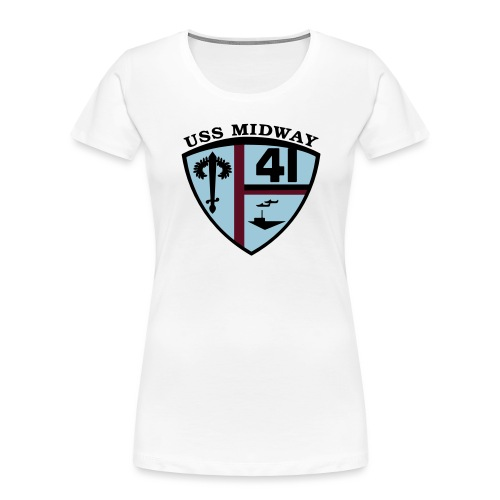 ussmidway - Women's Premium Organic T-Shirt