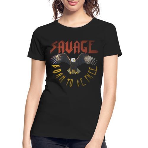vintage eagle - Women's Premium Organic T-Shirt