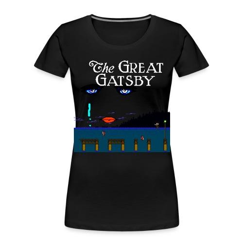 Great Gatsby Game Tri-blend Vintage Tee - Women's Premium Organic T-Shirt