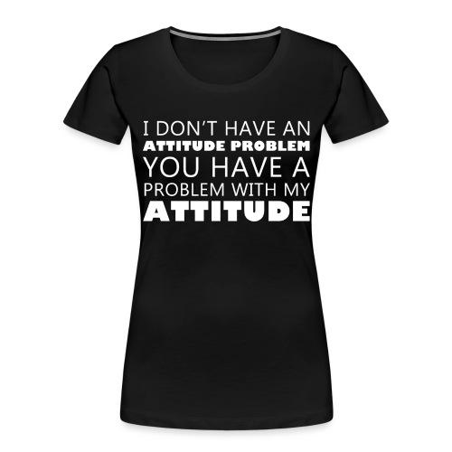 attitude - Women's Premium Organic T-Shirt