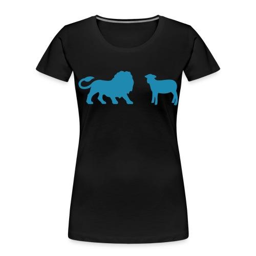 Lion and the Lamb - Women's Premium Organic T-Shirt
