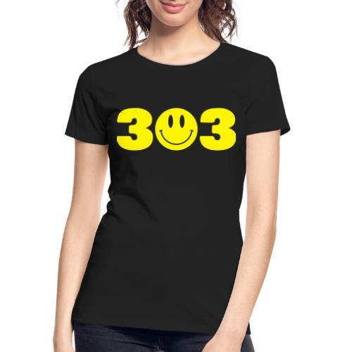 3 Smiley 3 - Women's Premium Organic T-Shirt