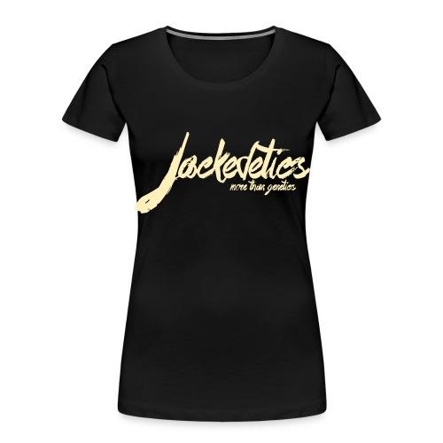 Jackedetics Tag - Women's Premium Organic T-Shirt