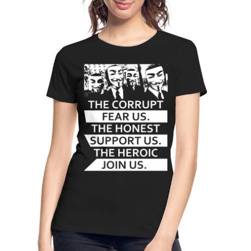 Anonymous 5 - Women's Premium Organic T-Shirt