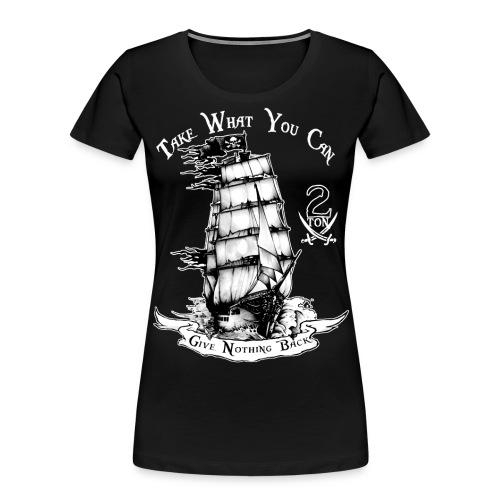 2ton Pyrates - Women's Premium Organic T-Shirt