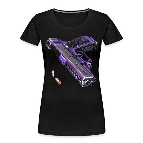 Gun - Women's Premium Organic T-Shirt