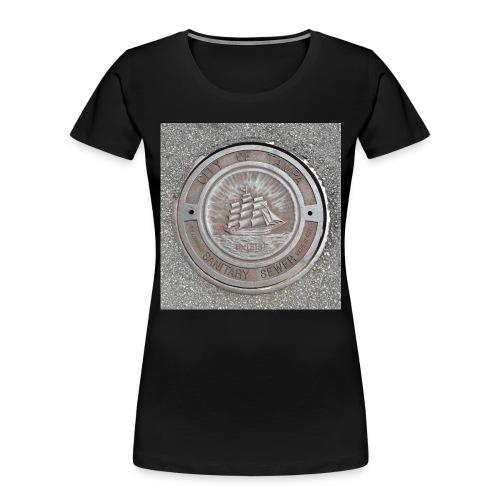 Sewer Tee - Women's Premium Organic T-Shirt