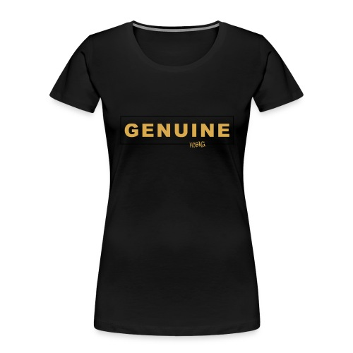 Genuine - Hobag - Women's Premium Organic T-Shirt
