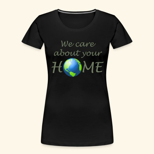Happy Earth day - Women's Premium Organic T-Shirt