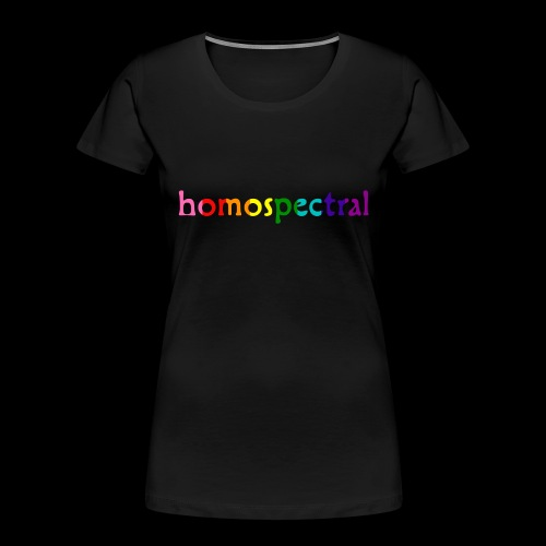 homospectral - Women's Premium Organic T-Shirt