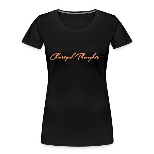 Christyal Thoughts C3N3T31 O - Women's Premium Organic T-Shirt