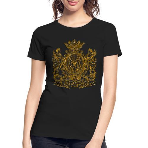 peace and prosperity coat of arms - Women's Premium Organic T-Shirt