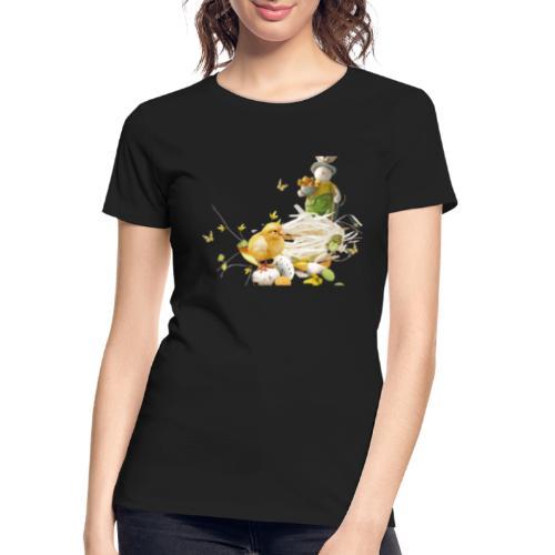 easter bunny easter egg holiday - Women's Premium Organic T-Shirt