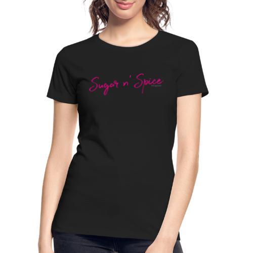 Kingsbrier Sugar n' Spice - Women's Premium Organic T-Shirt