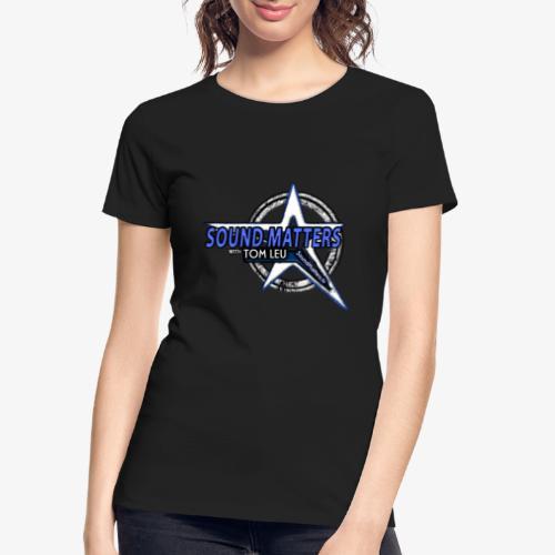 SOUND MATTERS Badge - Women's Premium Organic T-Shirt