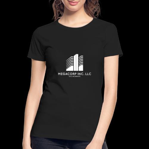 MEGACORP - GIANT EVUL CORPORATION - Women's Premium Organic T-Shirt