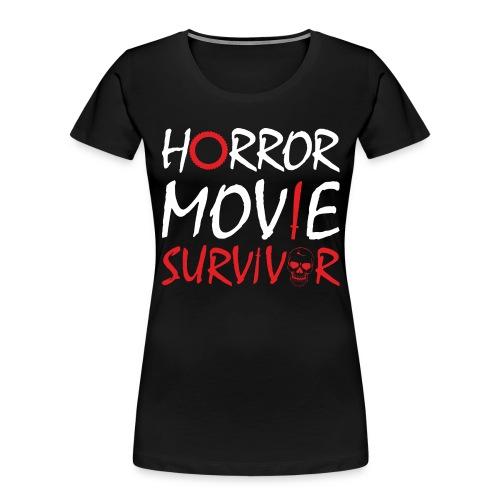 Horror Movie Survivor - Women's Premium Organic T-Shirt