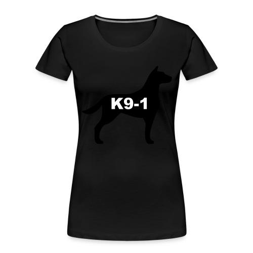 k9-1 Logo Large - Women's Premium Organic T-Shirt