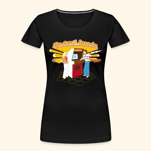 Master of the Arcade - Women's Premium Organic T-Shirt