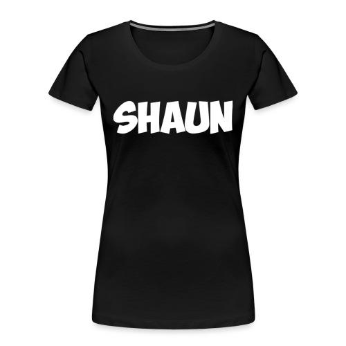 Shaun Logo Shirt - Women's Premium Organic T-Shirt
