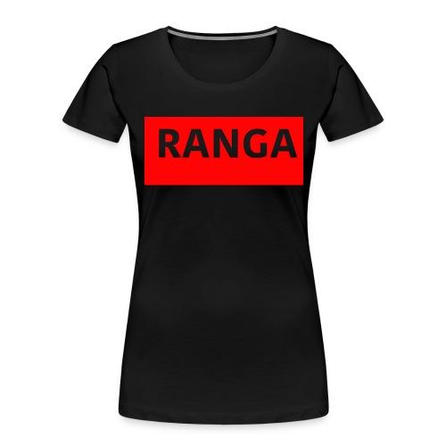 Ranga Red BAr - Women's Premium Organic T-Shirt