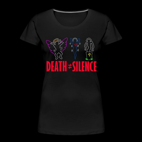 Death Does Not Equal Silence - Women's Premium Organic T-Shirt
