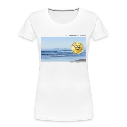 Beach Collection 1 - Women's Premium Organic T-Shirt