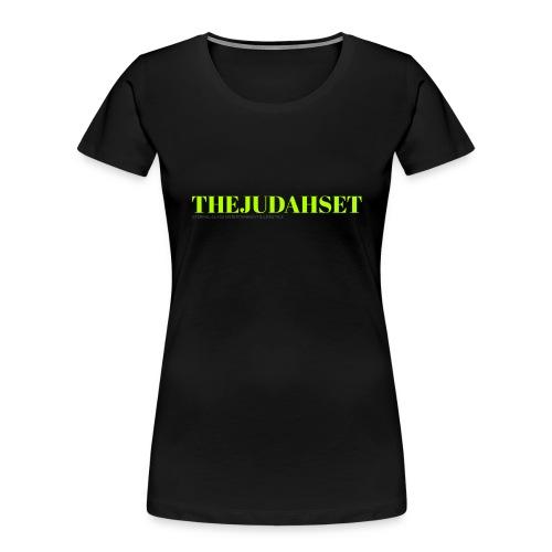 THEJUDAHSET - Women's Premium Organic T-Shirt