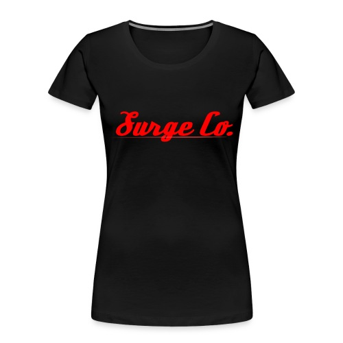 Surge Co. - Women's Premium Organic T-Shirt