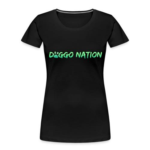 DoggoNation Logo - Women's Premium Organic T-Shirt