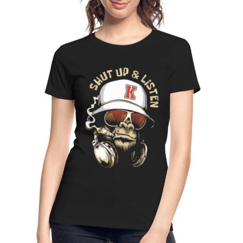 gorilla music - Women's Premium Organic T-Shirt