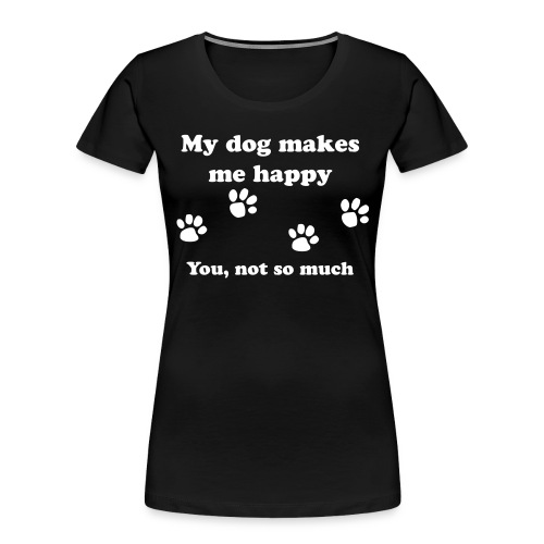 dog_happy - Women's Premium Organic T-Shirt
