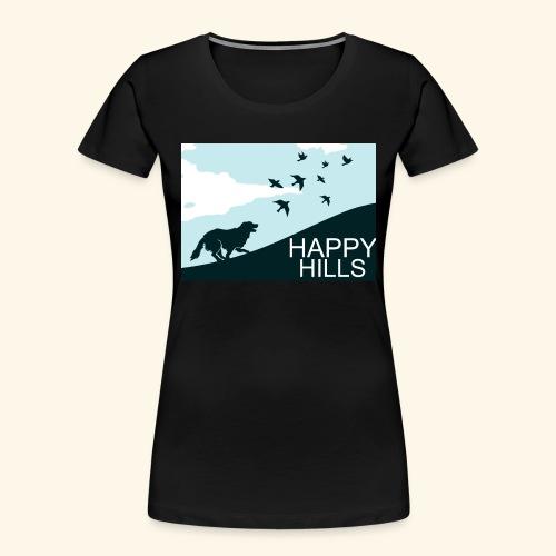 Happy hills - Women's Premium Organic T-Shirt