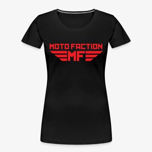 MotoFaction Logo - Women's Premium Organic T-Shirt