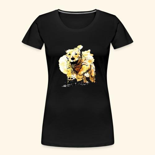 oil dog - Women's Premium Organic T-Shirt