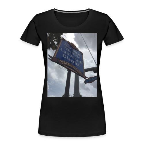 Ybor City NHLD - Women's Premium Organic T-Shirt