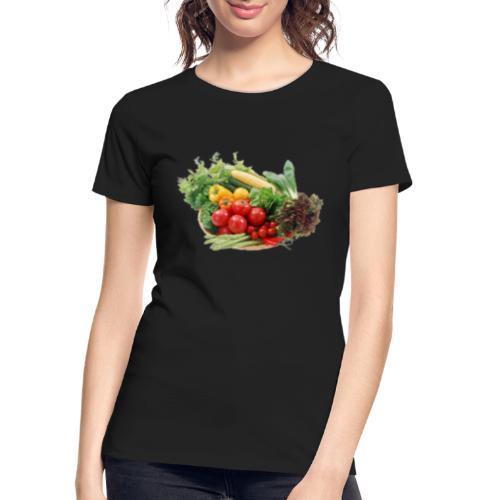 vegetable fruits - Women's Premium Organic T-Shirt
