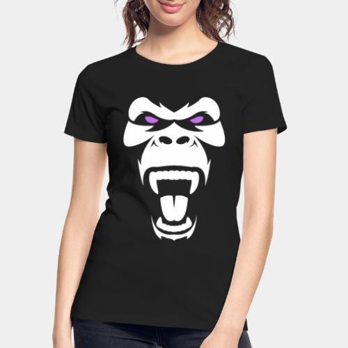 angry gorilla - Women's Premium Organic T-Shirt